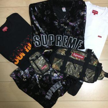 【必見保存版】Supreme 立ち上げ 19FW(19AW)商品レビュー Tシャツ・バッグ